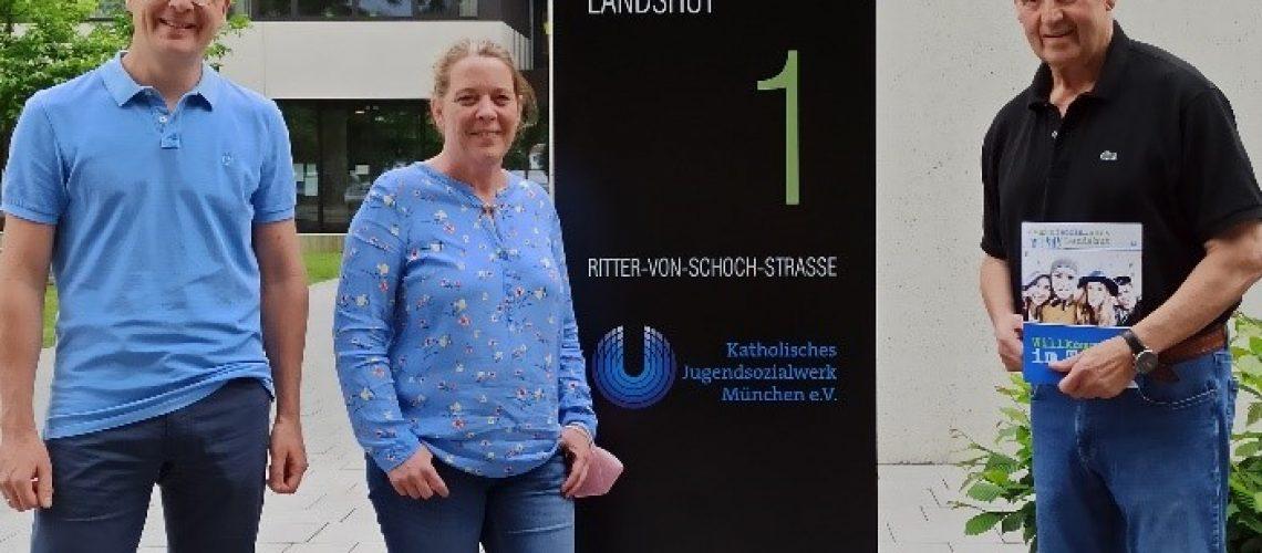 Spende von Klaus Butzi Auhuber ans KJSW in Landshut