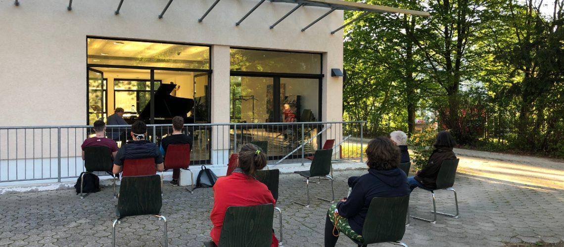 web-Konzert im JWGH MünchenSüd